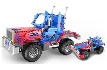 Радиоуправляемый конструктор-грузовик Convoy Truck