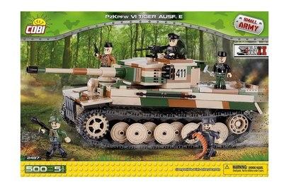 Конструктор танк TIGER PZKPFW VI AUSF.E - COBI-2487
