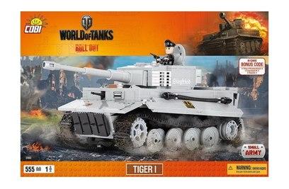 Конструктор танк TIGER I - COBI-3000