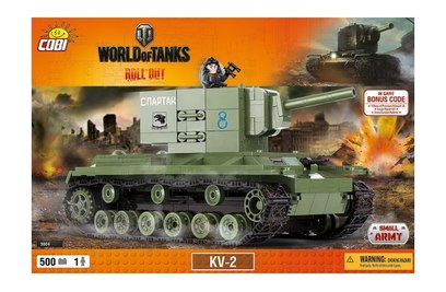 Конструктор танк KV 2 - COBI-3004