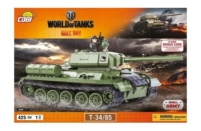 Конструктор танк T34 - COBI-3005