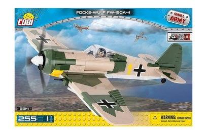Конструктор самолет FOCKE-WULF FW-190A-4 - COBI-5514