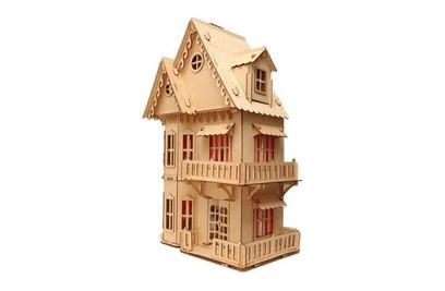 Конструктор Хэппикон Кукольный домик из дерева Хэппикон HK-D001
