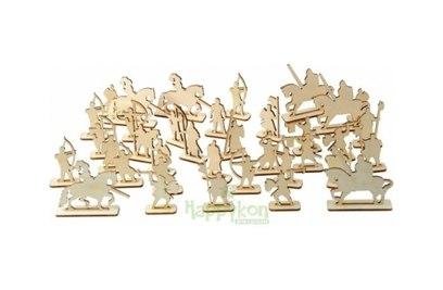 Набор рыцарей для крепости Хэппикон 36 штук HK-KR002