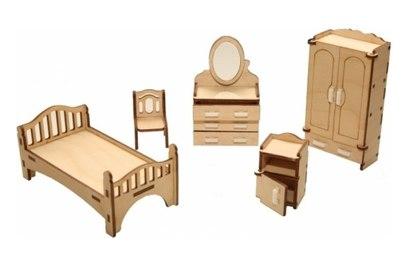 Набор мебели Хэппикон *Спальня* из дерева Lemmo HK-M001