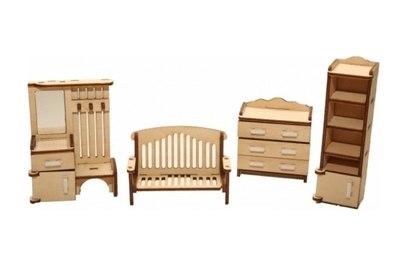 Набор мебели Хэппикон *Прихожая* из дерева Хэппикон HK-M003