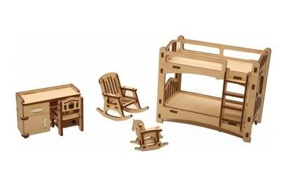 Набор мебели Хэппикон Детская из дерева Хэппикон HK-M005