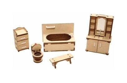 Набор мебели Хэппикон Ванная из дерева Хэппикон HK-M006