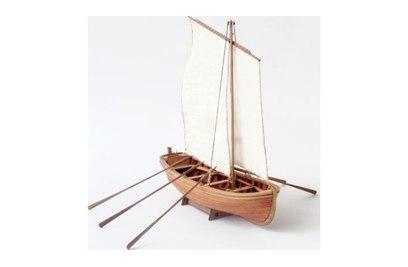 Сборная деревянная модель Парусно-гребной ЯЛ-6 1:36 - LSM0401