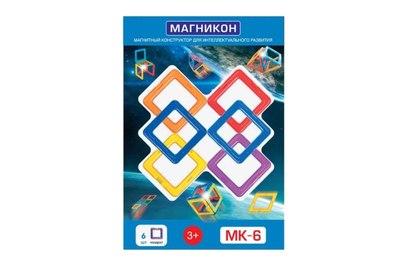 Магнитный конструктор МАГНИКОН MK-6