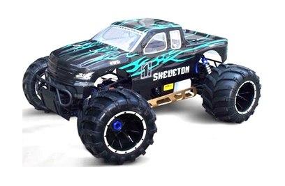 Бензиновый монстр HSP Skeleton PRO 4WD RTR 1:5