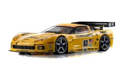 Kyosho GT2 GP RS Corvette 2007 C6R 4WD (шоссе; 1:8)