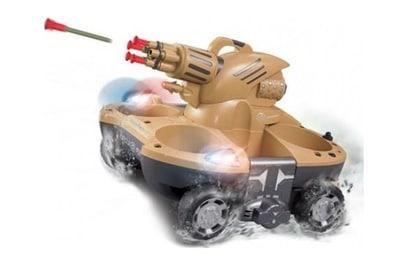 Танк-амфибия YED Amphibious with Shooting 27Mhz