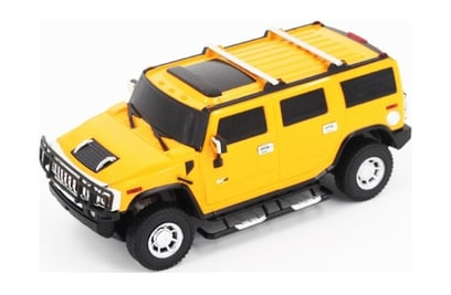 MZ Hummer H2 Yellow (автомодель; 1:24)