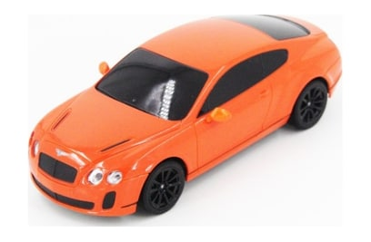 MZ Bentley Continental Orange (автомодель; 1:24)