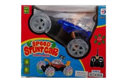 Радиоуправляемый трюковый автомобиль