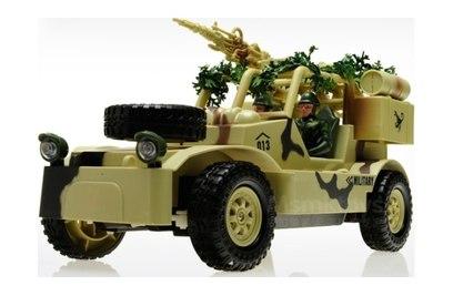 Радиоуправляемый военный джип Field Vehicle