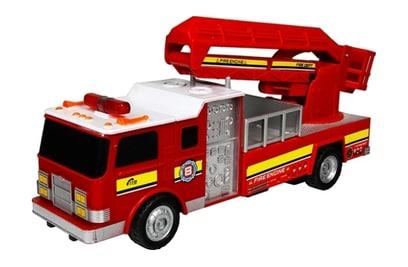 Р/у пожарная машина с подъемной стрелой