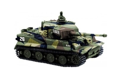 Танк Great Wall Toys German Tiger I 1:72 27Mhz