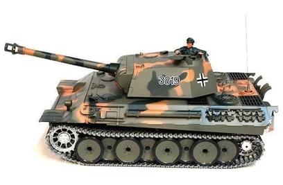 Р/у танк Heng Long German Panther Pro 1:16 40Mhz