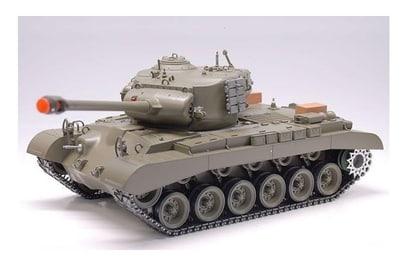 Р/у танк Heng Long M26 Pershing Snow Leopard 1:16 40Mhz