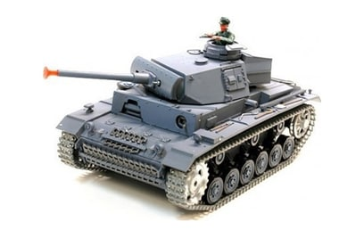 Р/у танк Panzerkampfwagen III Ausf L SD KFZ 1:16 40Mhz