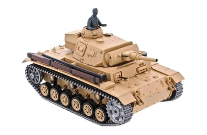 Танк Heng Long Tauch Panzer III Ausf H Pro 1:16 40Mhz