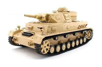 Panzerkampfwagen IV Ausf F-1 1:16 40Mhz