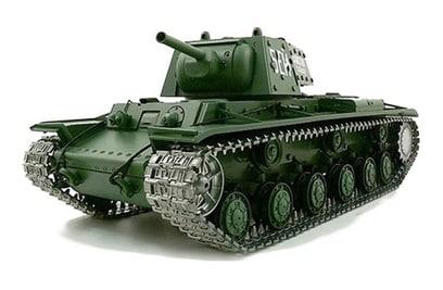 Радиоуправляемый танк Heng Long Russia КВ-1 1:16 40Mhz