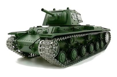 Радиоуправляемый танк Heng Long Russia КВ-1 Pro 1:16 40Mhz