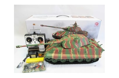 Р/у танк Heng Long German King Tiger 1 Henschel 1:16 2.4G