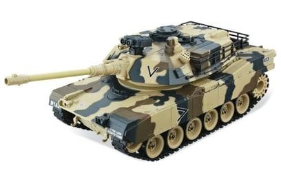 Р/у танк HouseHold M1A2 Abrams Yellow 1:20 40Mhz