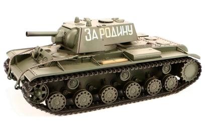 Радиоуправляемый танк VSTank Russia КВ-1 1:24 2.4G