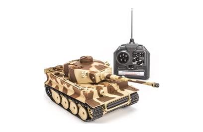 Радиоуправляемый танк Huan Qi German Tiger 1:28 40Mhz