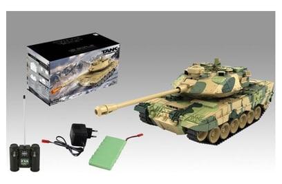 Радиоуправляемый танк Zegan Leopard 2 1:18 27Mhz