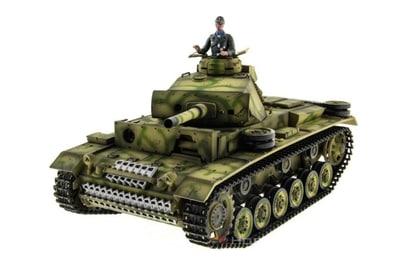 Taigen Panzerkampfwagen III HC ИК 1:16 2.4G