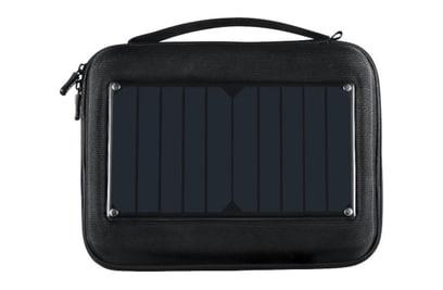 Сумка + солнечная батарея +аккумулятор на 5000mAh