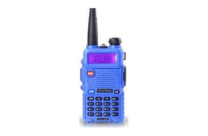 Радиостанция Baofeng UV-5R (синяя)