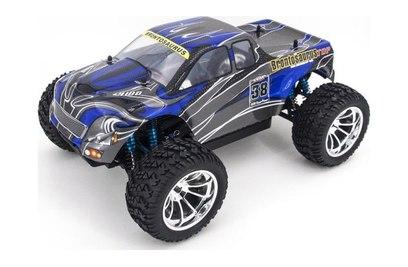 Радиоуправляемый внедорожник HSP CrazyIst TOP 4WD RTR масштаб 1:10 2.4G - 94211TOP (88029 (синий с черным))
