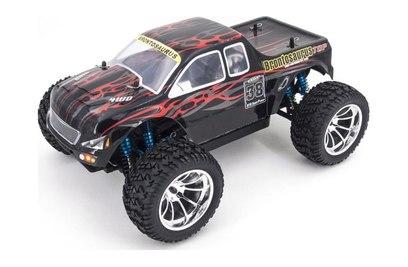 Радиоуправляемый внедорожник HSP CrazyIst TOP 4WD RTR масштаб 1:10 2.4G - 94211TOP (88050 (черный с красным))