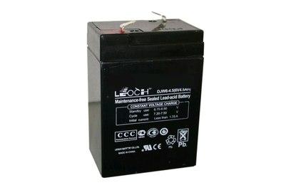 Аккумулятор 6V4.5Ah Leoch - AKB6V4A