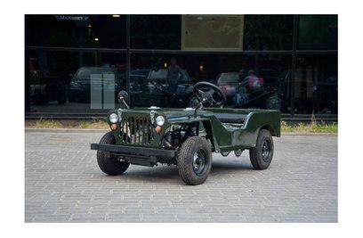 Детский джип на бензине Jeep Willys 110cc BASE