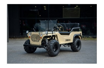 Бензиновый джип Jeep Willys 150cc