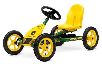 Педальная машинка Berg Buddy John Deere