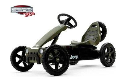 Педальный джип Berg Jeep Junior