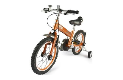 Детский двухколесный оранжевый велосипед Rastar - RSZ1602SO