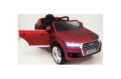Электромобиль AUDI Q7 QUATTRO (красный матовый, черный матовый, голубой глянец)