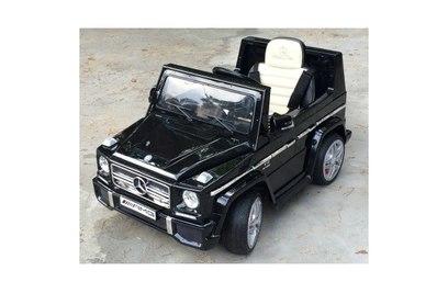 Электромобиль Mercedes-Benz G65 GLANEC (черный, вишня)