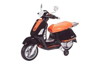 Электромотоцикл Peg-Perego Vespa Orange Black