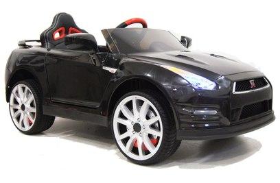 Электромобиль NISSAN-GTR-X333XX (черный, красный, белый)